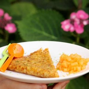Crêpes façon Suzette et brunoise de melon