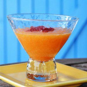 Soupe au pineau melon et coppa