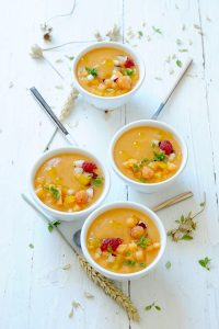 gaspacho au melon Le Rouge Gorge